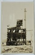 Wv Parkersburg W.va. Midway Sand And Gravel Co Ohio Real Photo Or Rp Postcard M19