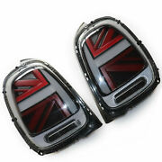 Smoke+red Taillights For Mini Cooper F55 F56 F57 Led Rear Brake Lamps 2014-2018