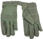 Us Army Hwi Combat Glove Type Ii Foliage Green W/padded Palm And Knuckle Medium
