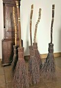 Witches Besom Broom Adults Sized By Wands And Broomsticks - Last Few Available