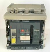 Schneider Electric Masterpact Nw12 H1 Circuit Breaker 1250 Amps With Trip Unit