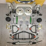 55-59 Chevy Camion Mustang Ii Ifs Airbag 2 Goutte 6x5.5 Puissance Lhd Rack