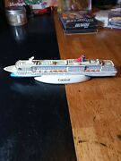 Carnival Cruise Lines Pride Resin Ship Model 8andrdquo Mock Up Rendition Paperweight