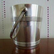 Christofle Bucket A Ice To Ice Cube Metal Silver Model Biarritz 2