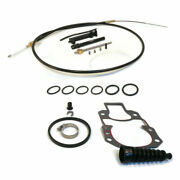 Lower Shift Cable Kit For 1989 Mercruiser Race 5700168bh 5710100bh 5710133bh