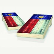 Texas Distressed State Flag Cornhole Boards - The Perfect Christmas Gift