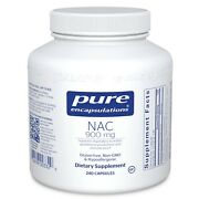 Pure Encapsulations Nac 900 Mg 240 Capsules Pack Of 1