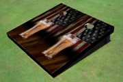 American Flag Beer Cornhole Boards - The Perfect Christmas Gift