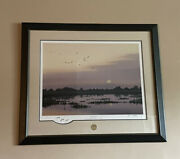 Evening Sprig By Peter Mathios Ducks Unlimited Le 2009 Signed Numbered Art