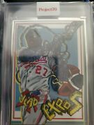 Topps Project 70 Vladimir Guerrero Sr. By Distortedd Artist Proof/51 Sold Out