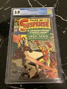 Tales Of Suspense 52 1964 Cgc 3.0 1st Appearance Of The Black Widow