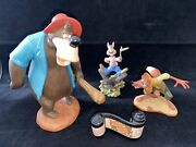 Walt Disney Collection Song Of The South Figurines W/ Certificate And Box