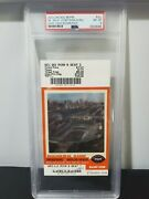 2003 Chicago Bears Inaugural Game At New Soldier Fields Vs Packers Ticket Psa 8