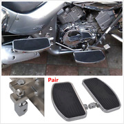 Pair Mini Floorboards Front Or Rear Foot Boards For Honda And Other Motorcycles