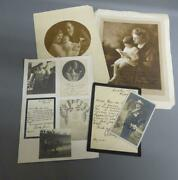 Enrico Caruso 1873-1921 Personal And Family Letters And Photographs Signed