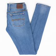 Lucky Brand Charlie Skinny Womens Jeans Medium Wash Size 00 Long 24/33