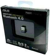 New Asus Usb-bt400 Usb Adapter W/ Bluetooth Dongle Receiver, Laptop And Pc Support