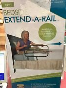 Able Life Bedside Extend-a-rail For Seniors Adjustable Adult Home Bed Rail And