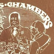 Vintage C1970and039s-80and039s Full Matchbook Mayors Chamberand039s Restaurant Prospect Hts Il