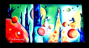 Contemporary Handmade Painting Md And Sd By World Fame Artt. Nidhi Bandil Agarwal