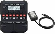 [with Genuine Ac Adapter] Zoom Zoom Multi Effector For Guitar G1 Four