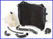 1995 Zx-9rb Genuine Round Radiator Set W/ Thermostat For Diversion Too Yyy