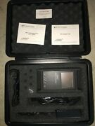 Noyes Vfs2 Afl Telecommunications Display Video Fiber Scope W Case And Accesory