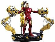 Iron Man 2 1/6 Scale Iron Man Mark 4 With Powered Suit Wearing M...
