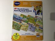 Vtech Touch Learn Activity Desk Deluxe Expansion Pack Animals Bugs Music Science