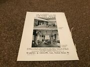 Aabk11 Antiques Advert 11x8 Waring And Gillow Furnishing Of The Country House