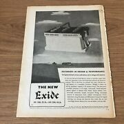 Sta6 Advert 11x8 The Chloride Electrical Storage Company Limited New Exide