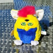 Original Furby Babies Yellow Blue Pink W/green Eyes 1999 Tiger Works Excellent