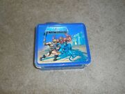 Vintage 1983 Aladdin He-man Masters Of The Universe Lunchbox With Thermos