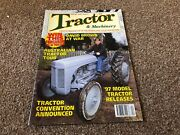 Tractor And Machinery Magazine 1997 Apr, Australian Tractor, David Browns At War