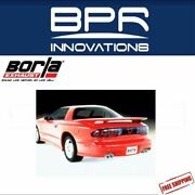 Borla Cat-back Exhaust For 95-97 Camaro Ss And Z28 And Firebird/trans-am 5.7l 14555