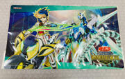 Crystal Clear Wing Synchro Dragon Yugo Official Playmat Ranking Duel 2021 Sealed