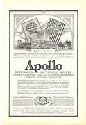 Apollo 1925 Vintage Ad Galvanized Sheets Alloy Of Copper And Steel Roofing