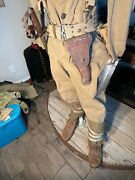 U.s Army Ww1 1918 Uniform Helmet Original And Authentic Field Gear And Weapons.