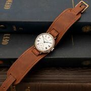 Antique Hy Moser Ww1 Trench Watch Serviced And Warranty