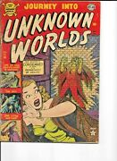 Journey Into Unknown Worlds 14, Atlas Pre-code Horror Classic Wolverton Story
