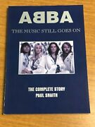 1994 Abba The Music Still Goes On Softcover Book The Complete Story Oop Snaith