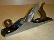 Vintage Wards Master No. 5 Wood Plane / Great 14 Bench Hand Tool / Made In Usa