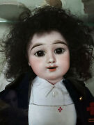 Ancienne Poupandeacutee Eden Bebe Antique French Doll In Box