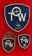 Lot Of 3 Emerson Tow Anti Tank Military Insignia Patch