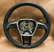 Audi Genuine Rs-line Steering Wheel With Paddles - No Front
