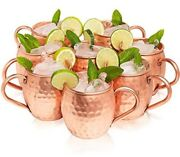 Kitchen Science Moscow Mule Copper Mugs Set Of 8