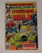 Marvel Team-up 54 Marvel Comics 1977 Spider-man And The Incredible Hulk Fn/vf