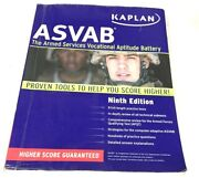 Kaplan Asvab Ninth Edition Proven Tools To Help You Score Higher