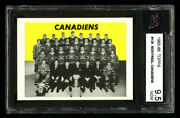 1965 Topps 126 Montreal Canadiens Ksa 9.5 From An Original Hq Vending Case Find