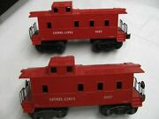 Lionel 6057 2  Ll Cabooses  Vg++